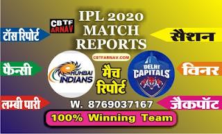 IPL T20 MI vs DC 27th Today Match Cricline Prediction |100% Sure Winner