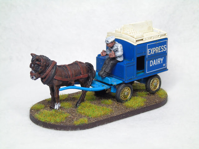 vbcw milk cart 28mm lledo