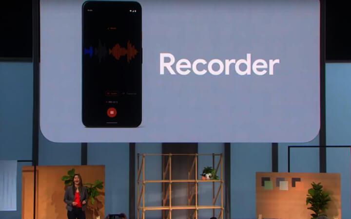 جوجل تكشف عن تطبيق Recorder لتسجيل الصوت على هواتف الأندرويد