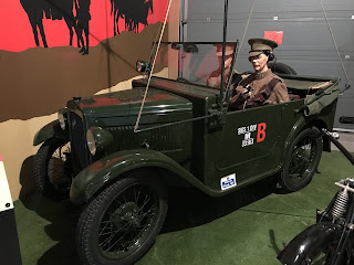 An Austin 7 wireless car