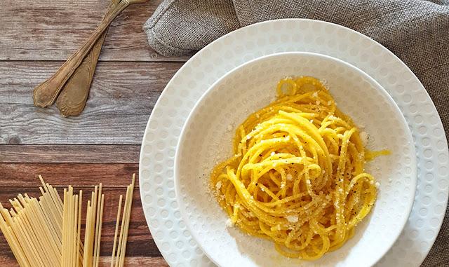Spaghetti gialli alla Milanese