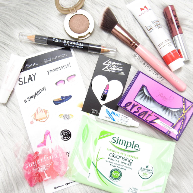 beautycon box fall 2016 - the beauty puff