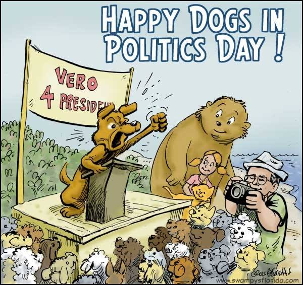 National Dogs in Politics Day Wishes Awesome Picture