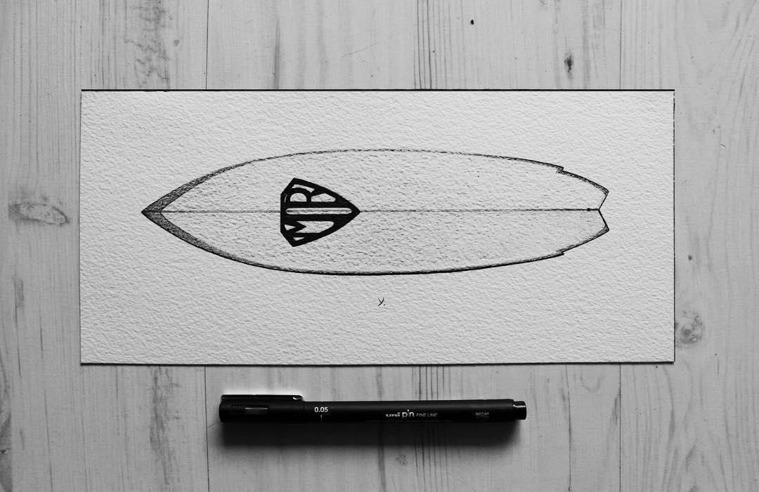 Yann Hubert: cultura surf a tinta