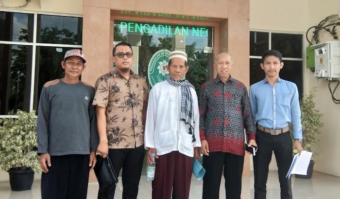 Putusan Pengadilan Negeri Menggala Dinilai Tidak sesuai, BKBH Unila berikan bantuan Hukum.
