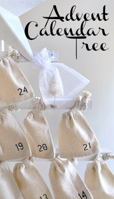 Advent calendar pin for pinterest