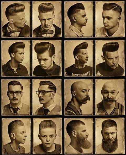 Greaser Menu0027s Hairstyles