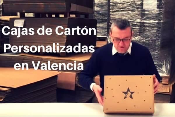 cajas de carton personalizadas en Valencia