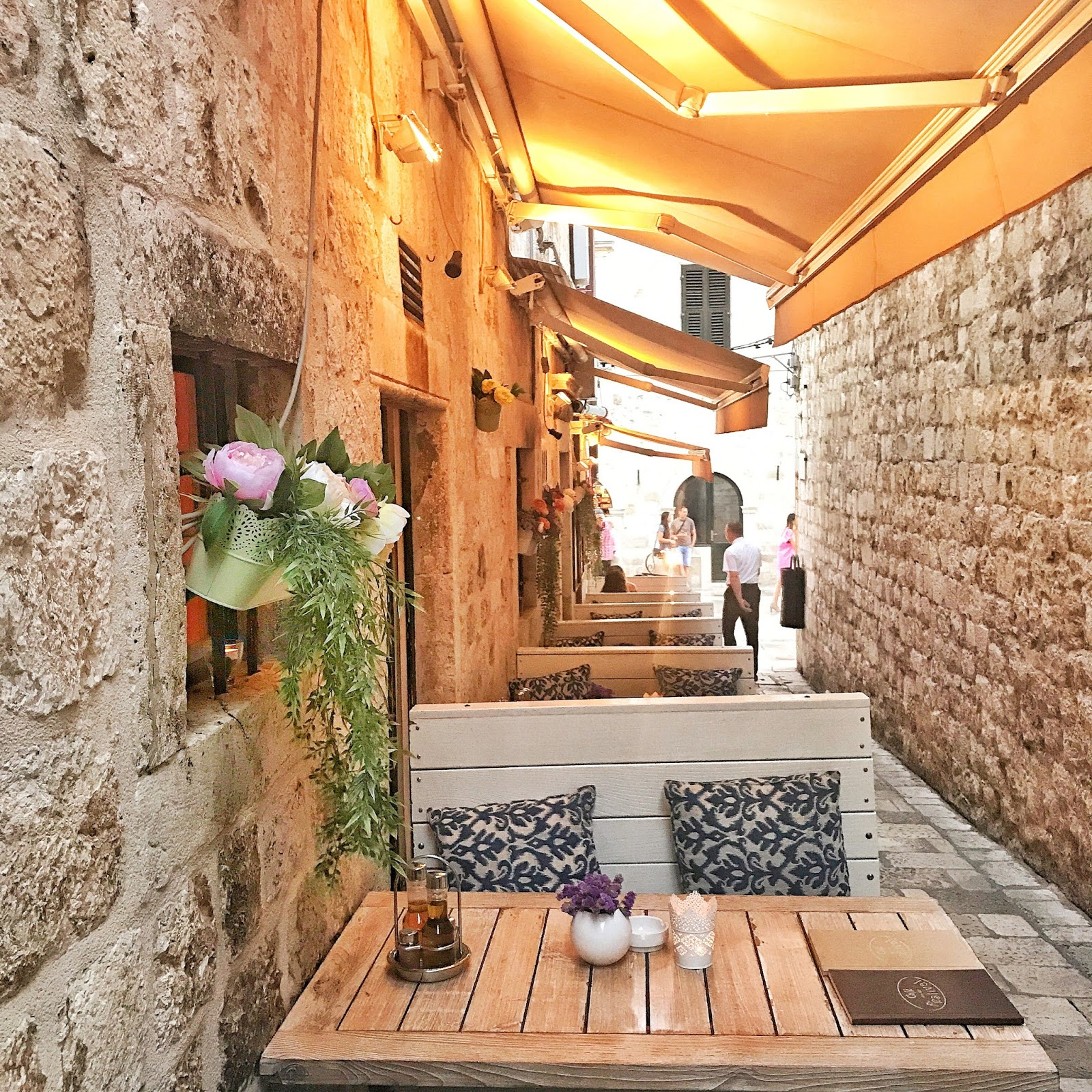 pretty restaurants in Old Town Dubrovnik