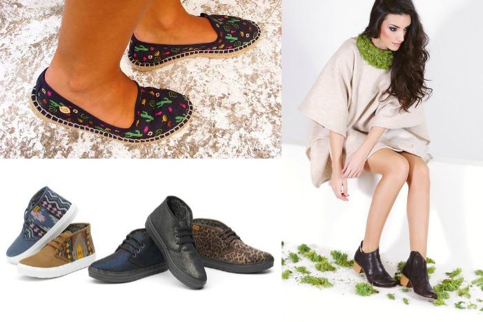 21 Tiendas de Moda Sostenible Zapatos Slowers Natural World Eco Ray Musgo