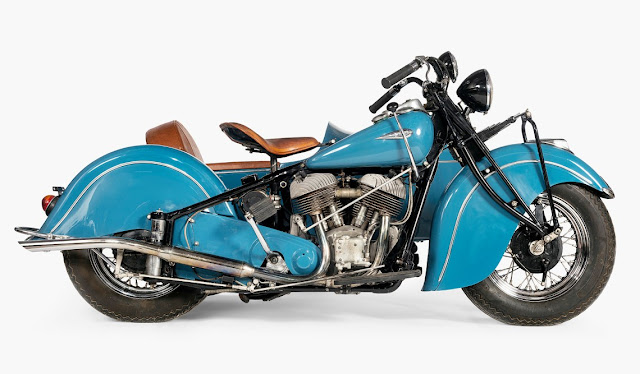 Indian Chief with Sidecar 1940
