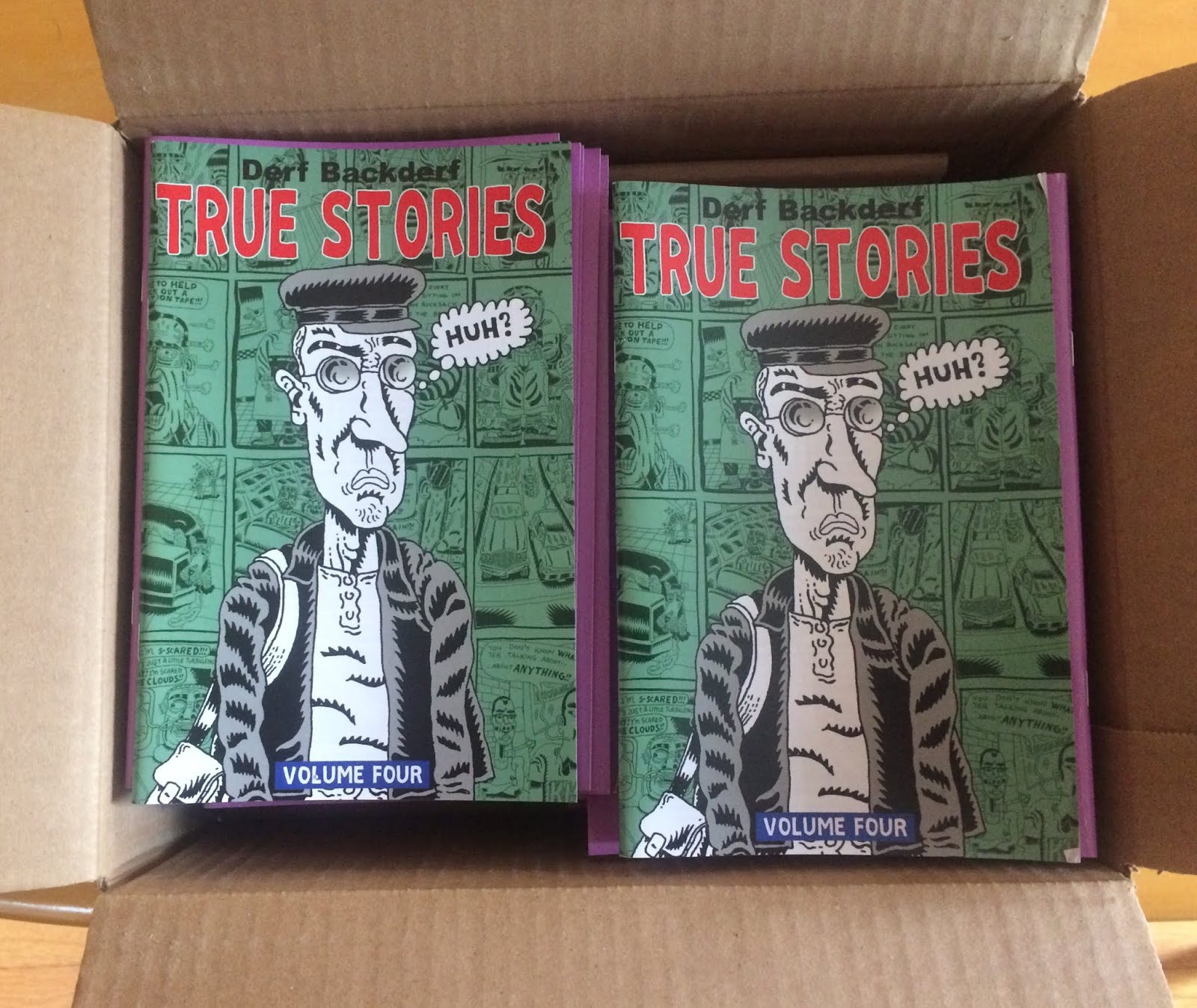 The Final Two Volumes Of True Stories Was Published Making Four In All And Putting A Nice Period On My Long Comic Strip Career