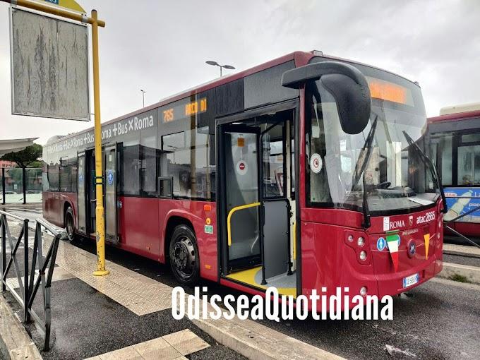 Atac: nuovi bus, quasi completate le consegne del primo lotto