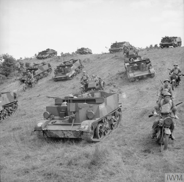 The Welsh Regiment on maneuvers, 22 July 1941 worldwartwo.filminspector.com