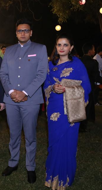 His Highness Maharaja Yaduveer Krishnadatta Chamaraja Wadiyar & Her Highness Maharani Trishika Kumari of Mysore