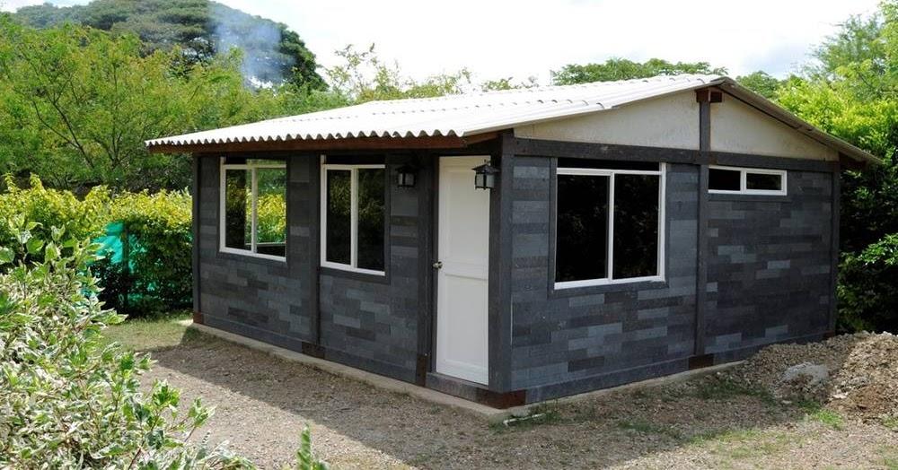arquitectura de casas casas hechas con bloques de