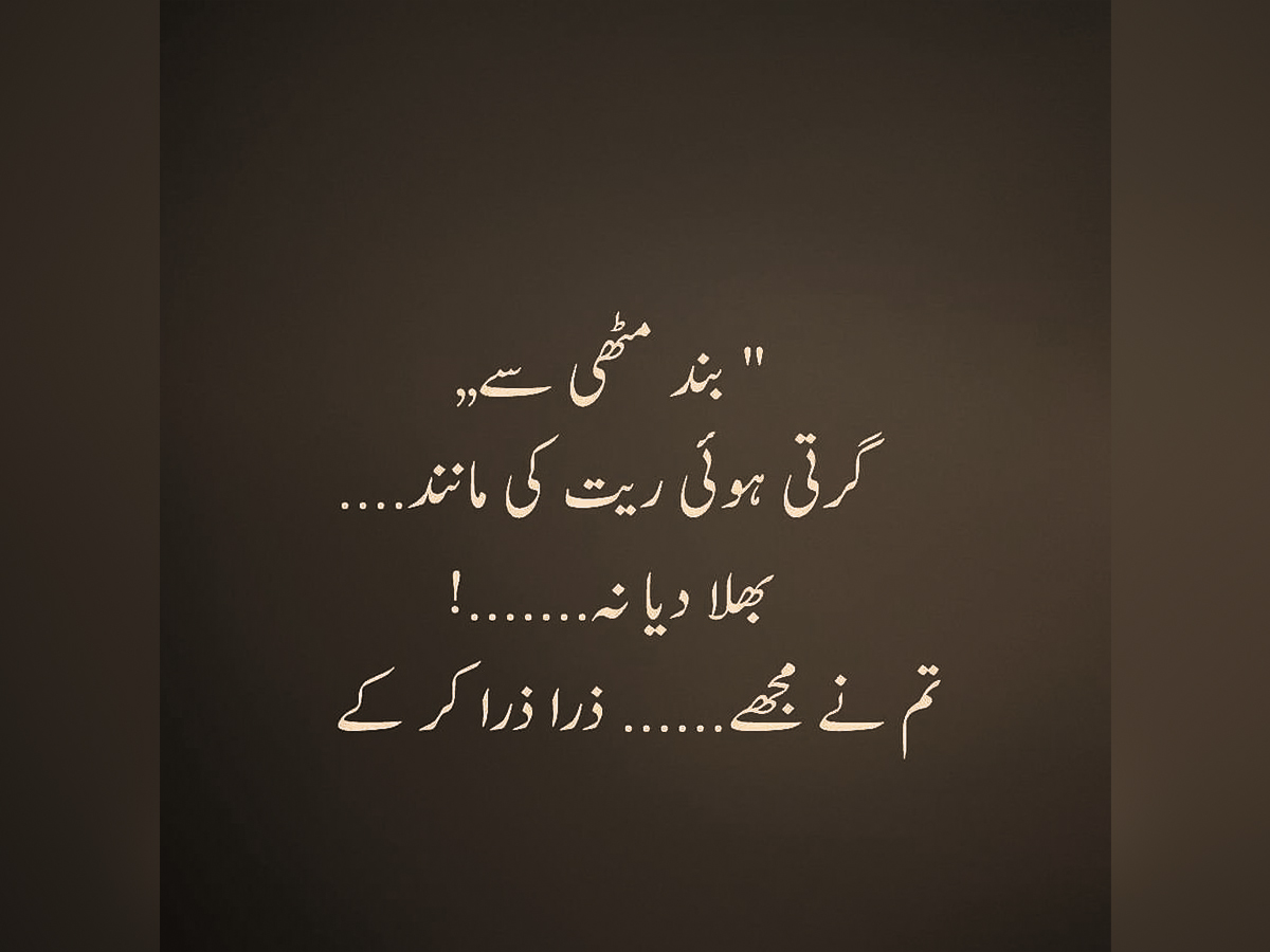 Famous Quotes Saying About Zindagi People In Urdu Images ...