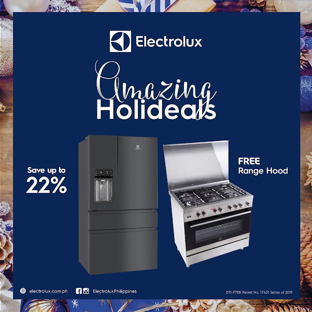 Electrolux Amazing Holideals Promo