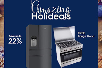 Holidays taste better with the Electrolux Amazing Holideals Promo