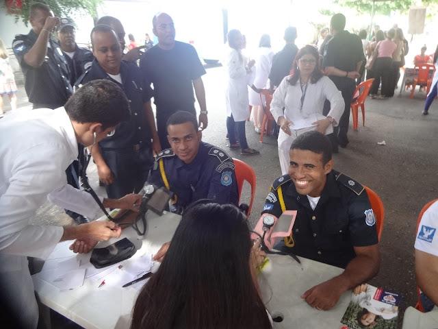 Guarda Civil Municipal de Salvador (BA) promove sua I Feira de Saúde