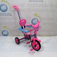 tongkat sandaran bmx tiga roda sepeda exotic