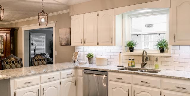 Kitchen Cabinets In Alabaster Modern House Modern House