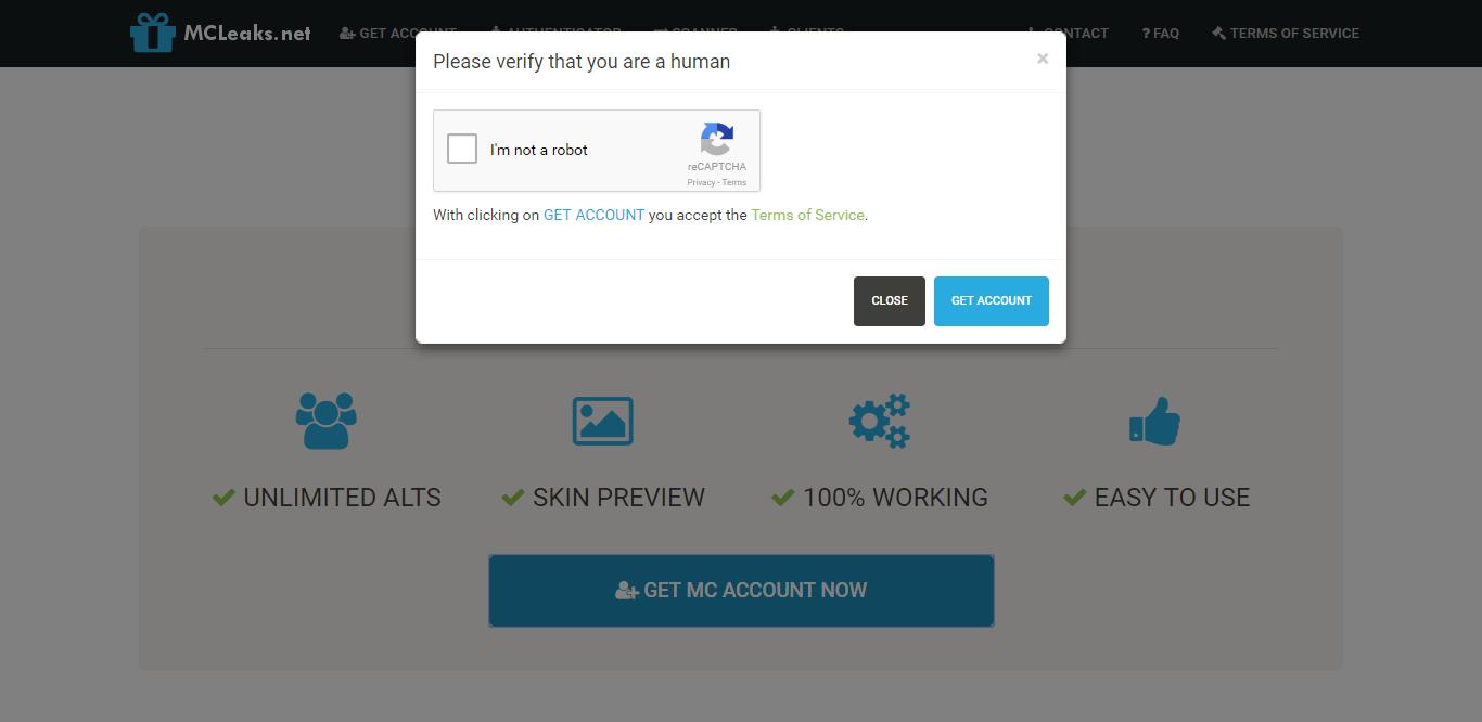 Ficopang: Cara mendapat minecraft account (alts) gratis