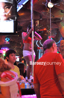 Pole dangcer di Bangla Road