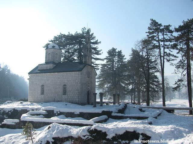 Церковь Рождества Богородицы - Цетине, Черногория