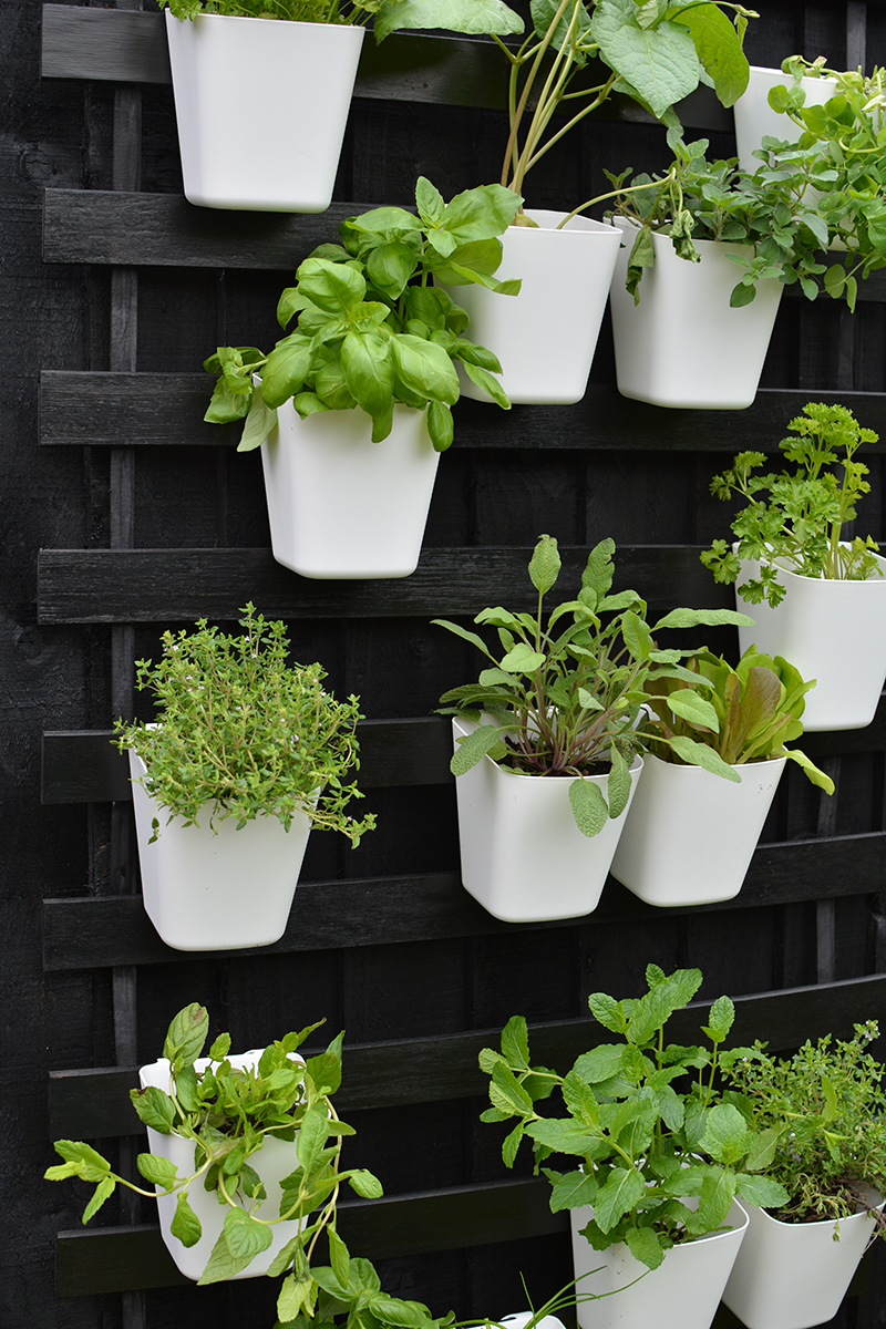 vertical garden IKEA hack