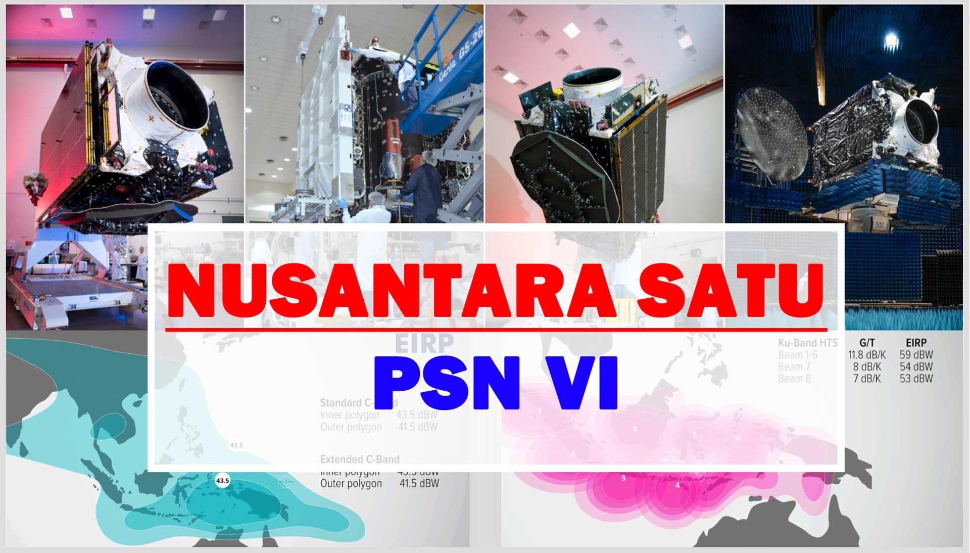 Peluncuran Satelit Nusantara Satu PSN VI