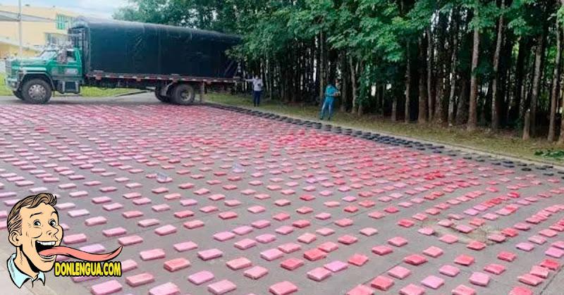 Camión de naranjas se dirigía a Venezuela pero relleno de Drogas y fue capturado