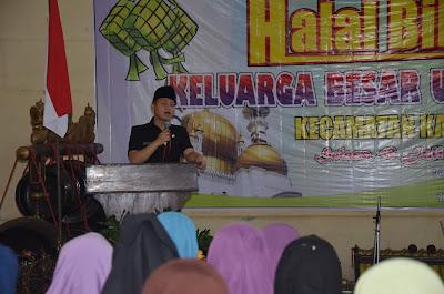 Wabup Arifin Bersilaturahmi dengan Keluarga Besar Dikpora Kampak