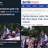 Panitia Alumni Jatim Sesalkan Mc Beri Gelar 'Cak-Jancuk' Ke Jokowi, Ini Komentar Js Prabowo