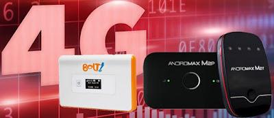 Smartfren MiFi M2Y, Bolt Modem Mobile WiFi Hydra, Smartfren MiFi M2P, BOLT MoviMax ORION, Smartfren Andromax M2S.