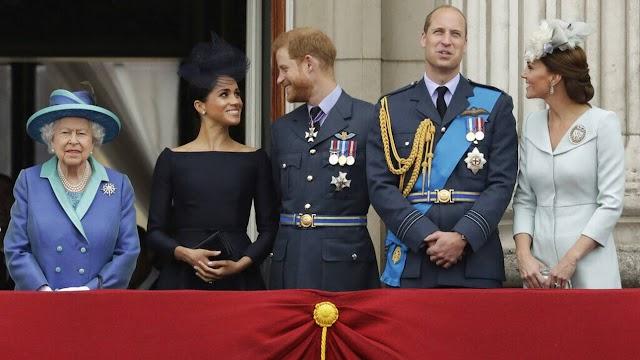 Μέγκαν και Χάρι: «Ενθουσιασμένη» η βασιλική οικογένεια με τη γέννηση της Λίλιμπετ
