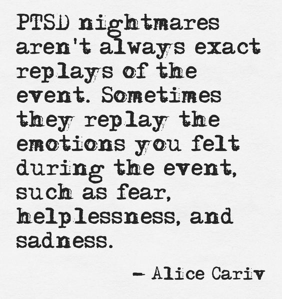 PTSD Quote Of The Day - 05/29/17