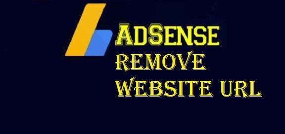 Removing Website URL - AdSense