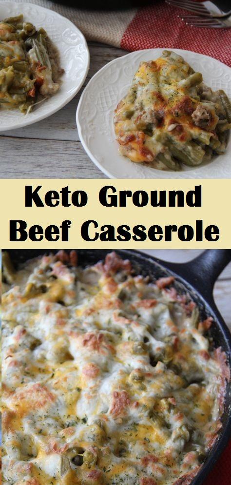 Keto Ground Beef Casserole
