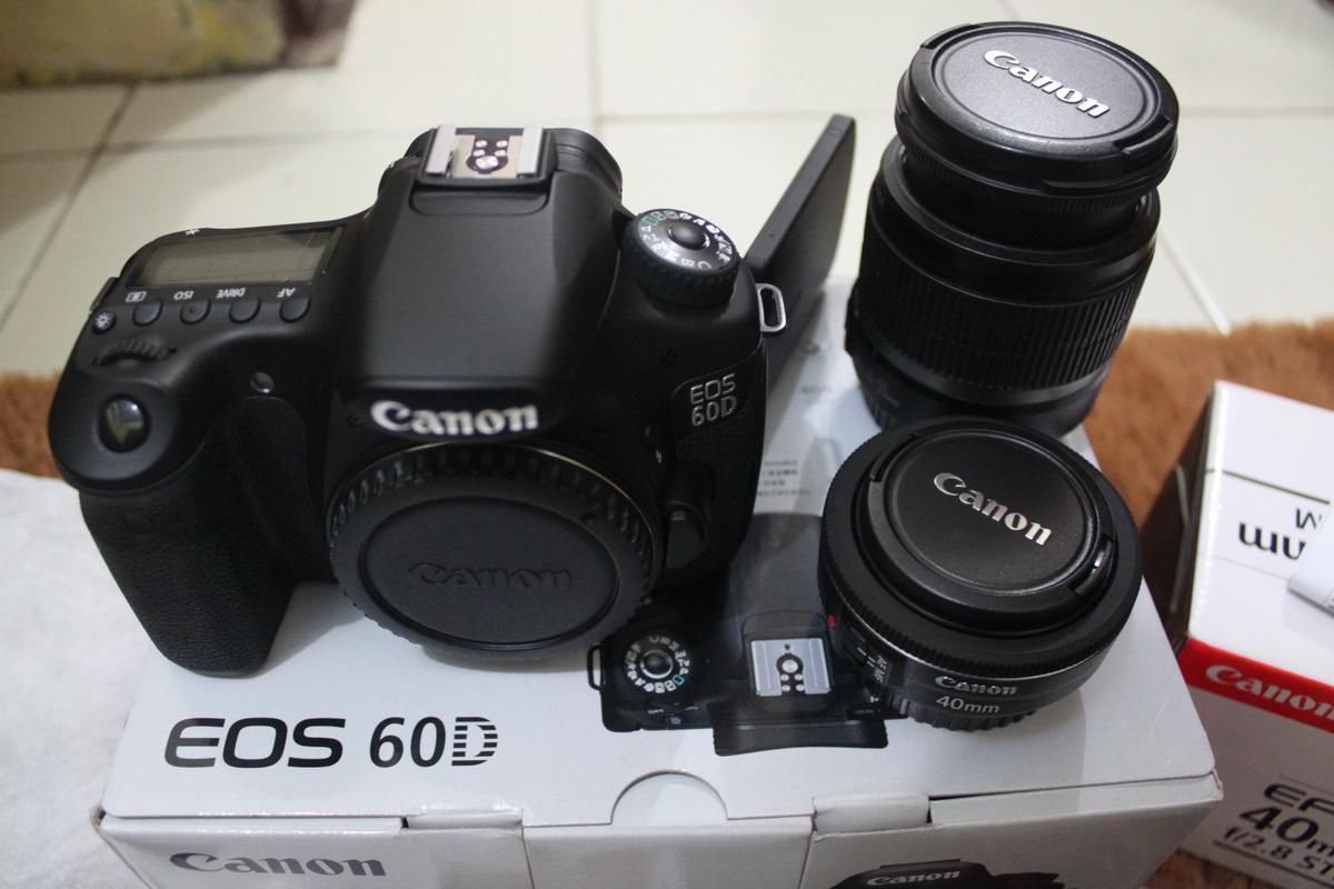 Spesifikasi Dan Harga Kamera Canon 60d Terbaru 2019