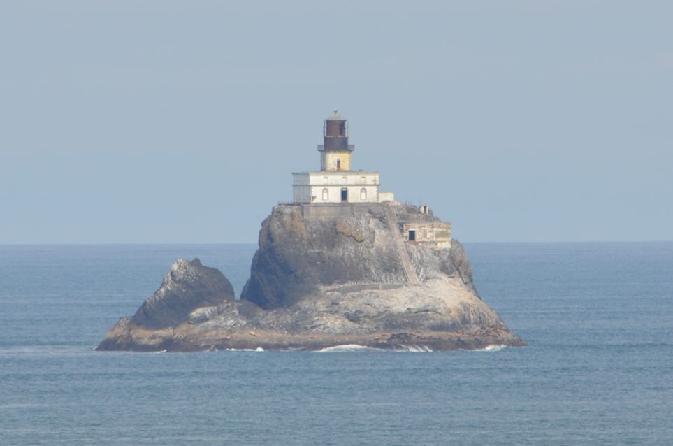 The Tillamook Rock Lighthouse Sits Atop Roximately One Mile From Ecola State Park Just North Of Cannon Beach Oregon