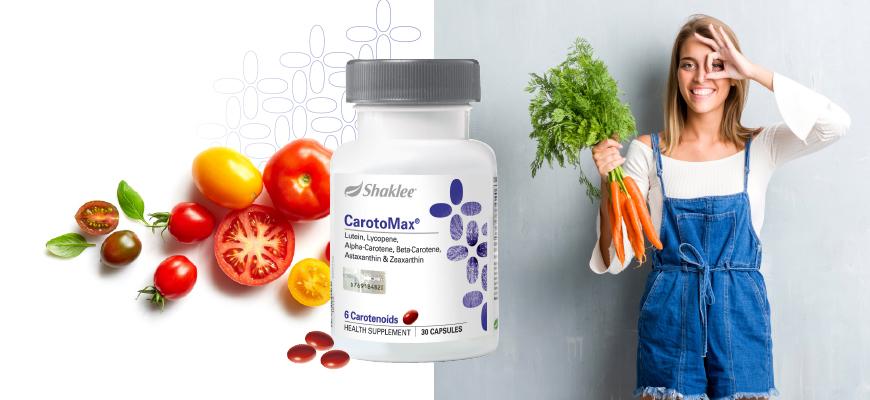 CarotoMax® untuk perlindungan antioksidan