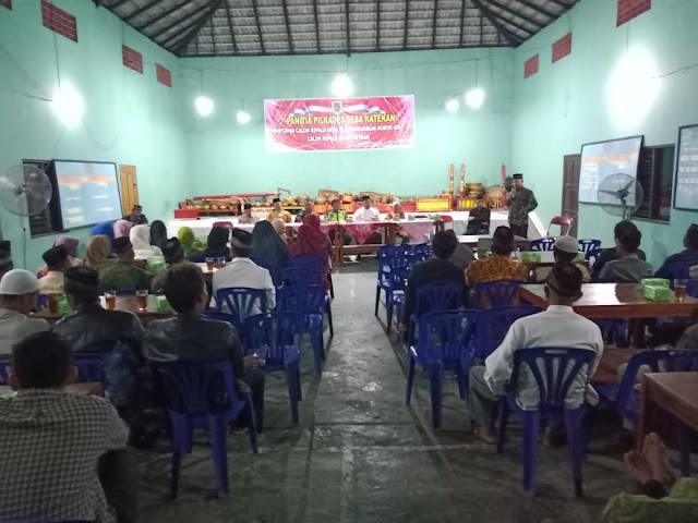 Babinsa Koramil Gantiwarno Hadiri Doa Bersama Untuk Kesuksesan Pilkades