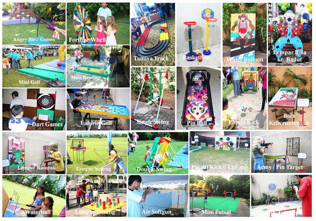 Rental Games, Sewa Permainan untuk Gathering, Mainan ulang tahun, aneka permainan