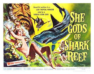 Película La diosa tiburón Online
