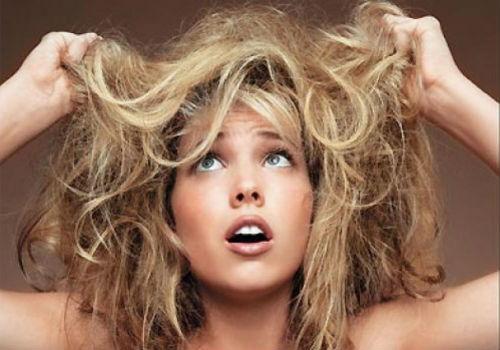 penyebab rambut rusak