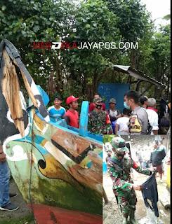 Angkat Jaring Nelayan Tersambar Petir