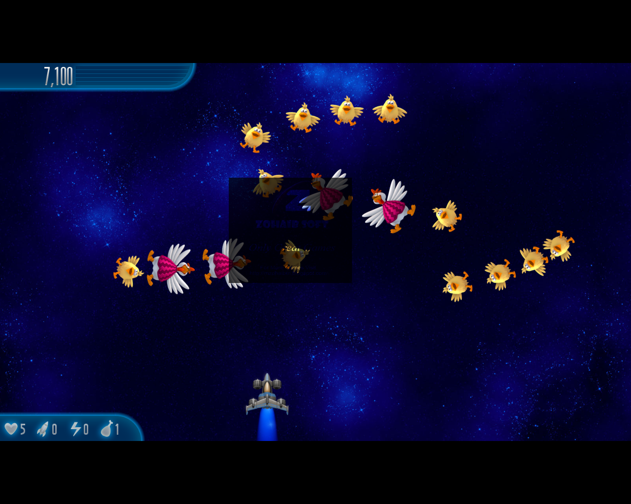Play Chicken Invaders Online Free Full Screen
