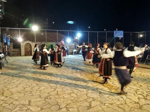 """Ο Πολιτιστικός Σύλλογος """"Ο ΜΟΡΙΑΣ"""" σε εκδήλωση στο Βαλτετσινίκο Αρκαδίας"""
