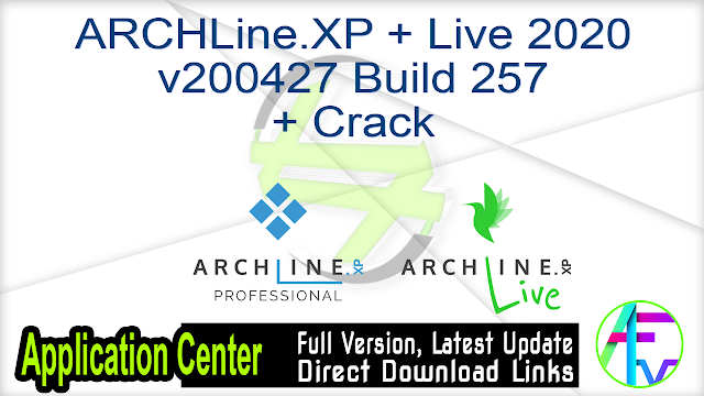 ARCHLine.XP + Live 2020 v200427 Build 257 + Crack